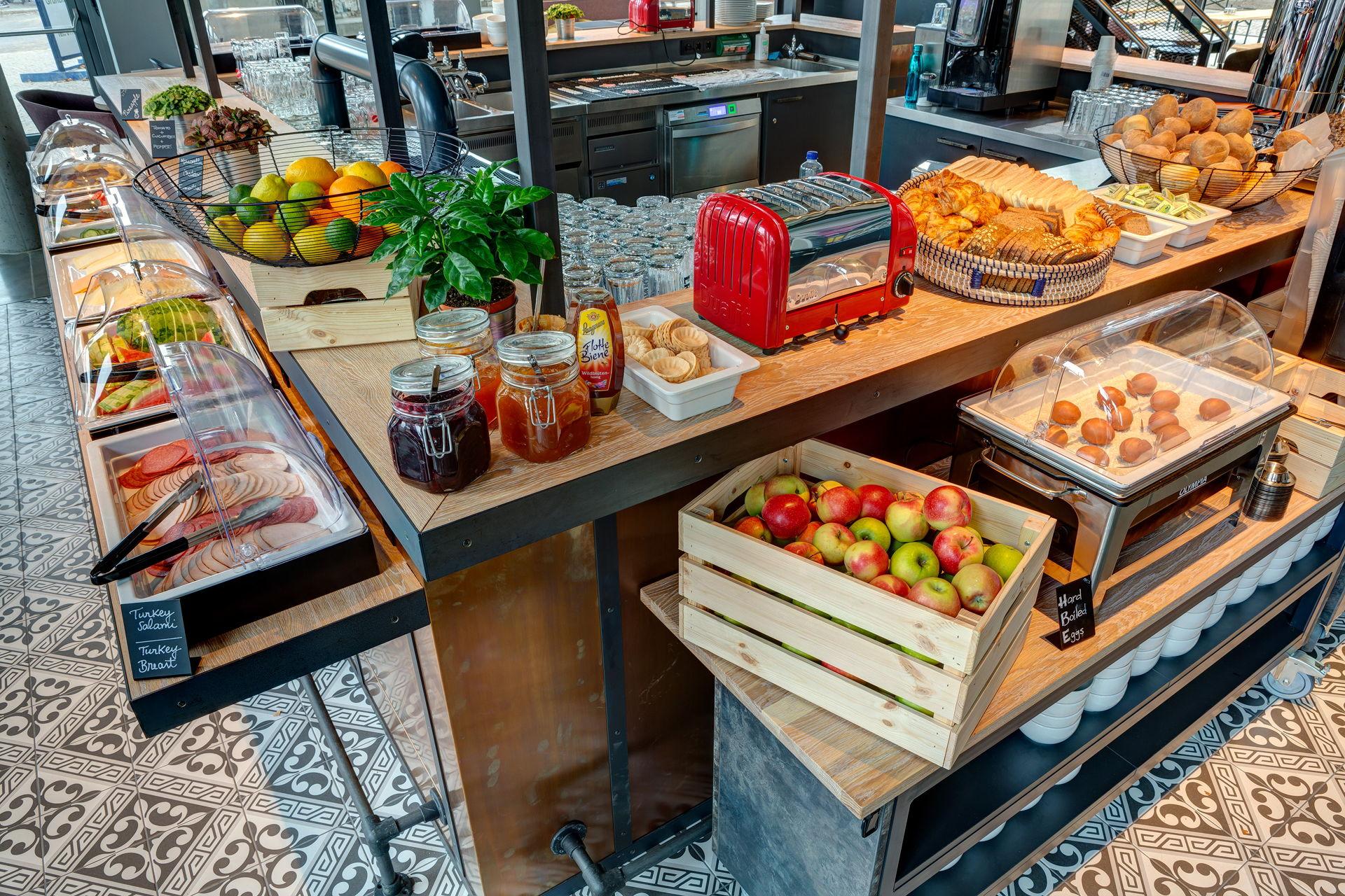Schulz Hotels breakfast